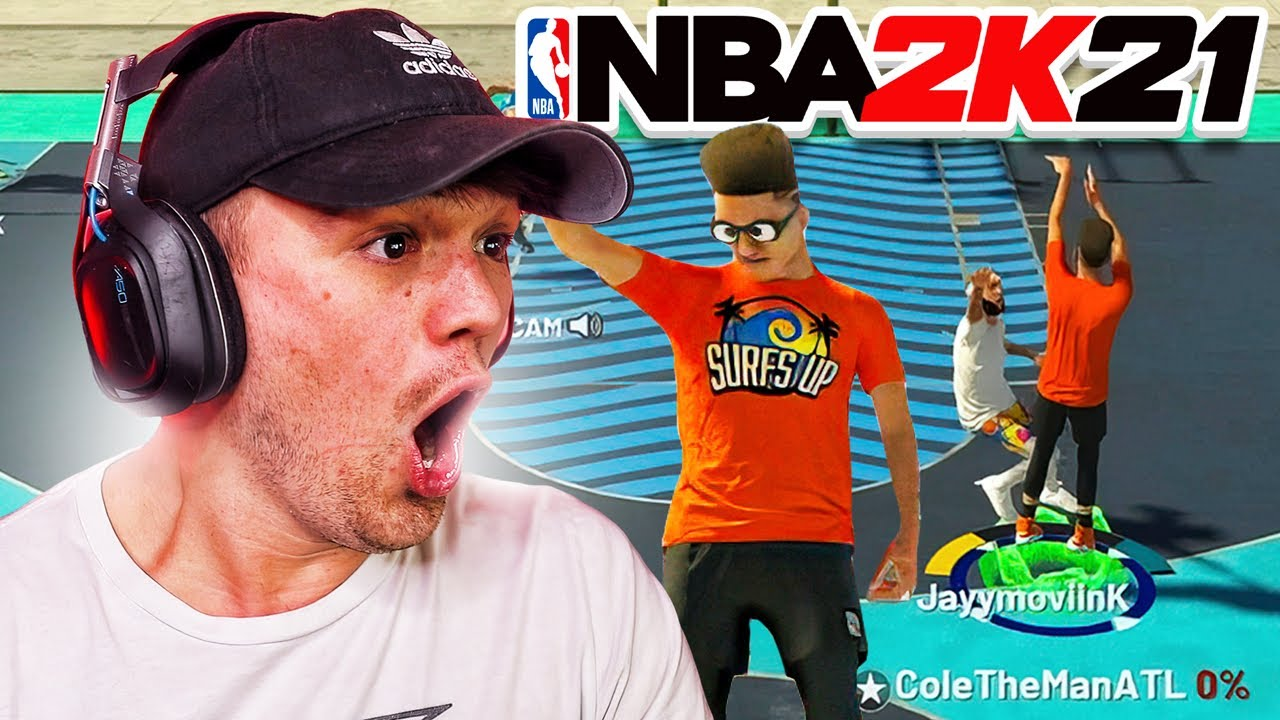 USING MY FIRST BUILD 318 DAYS LATER on NBA 2K21…