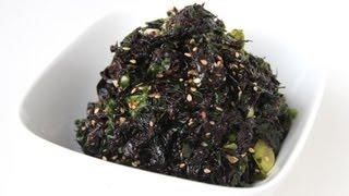 Seasoned Seaweed (doljabanmuchim: 돌자반무침)
