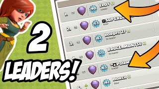 OMG! THIS CLAN HAS 2 LEADERS! HOW? - Clash Of Clans