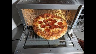 First Pizza Attempt NuWave Bravo XL Smart Convection Toaster Oven
