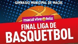 Final Liga de Basquetbol 2018