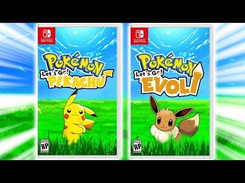 Pokemon SWITCH [Let's Go Pikachu/Evoli] wird jetzt ANGEKÜNDIGT!?