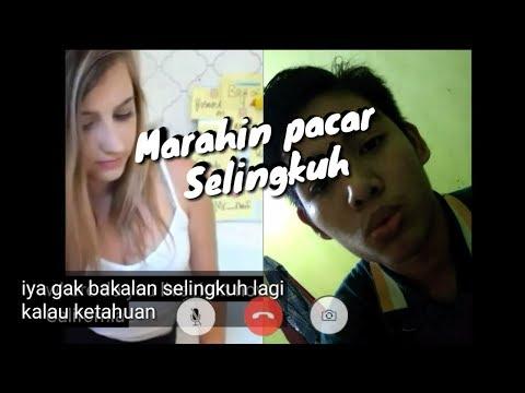 Marahin Pacar Selingkuh - #Videocall Sama Bule Cantik