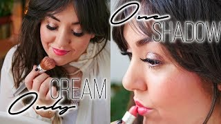 ONLY CREAM One Shadow Everydaymakeup I Beauty Trends 2019 im Live test