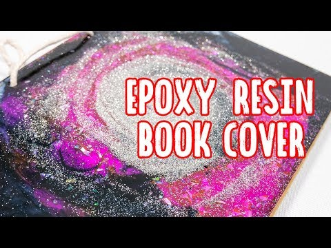 Make your own A5 size notebook cover with ab epoxy resin - Malaysia Clay Art