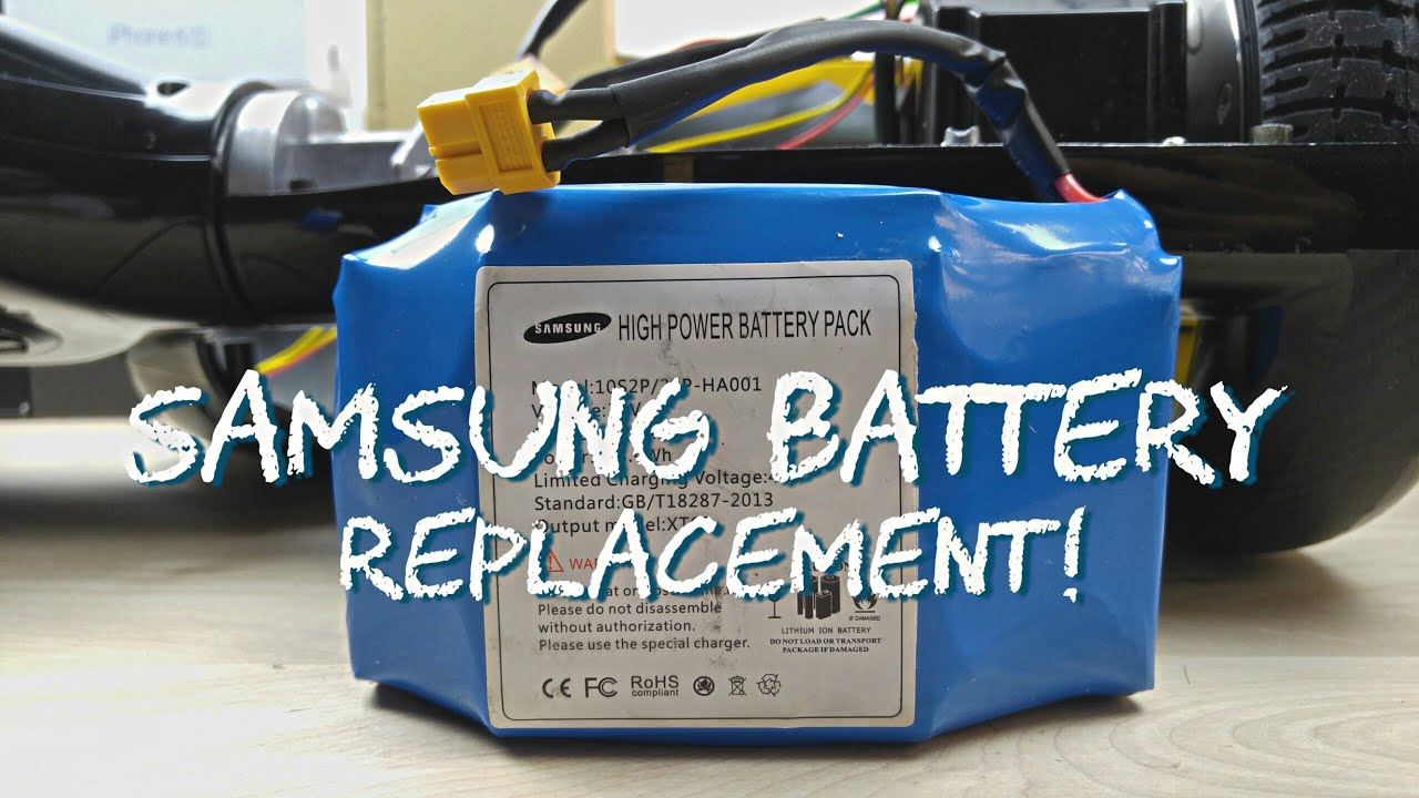 Balance Scooter Hoverboard Exploding Battery Solution Fix Mod Replacement