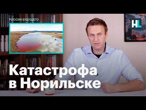 Навальный о катастрофе в Норильске
