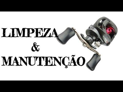 MANUTENÇÃO E LIMPEZA DE CARRETILHA MS titan gto 3000