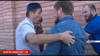 Рамзан Кадыров посетил Ойсхара с инспекцией