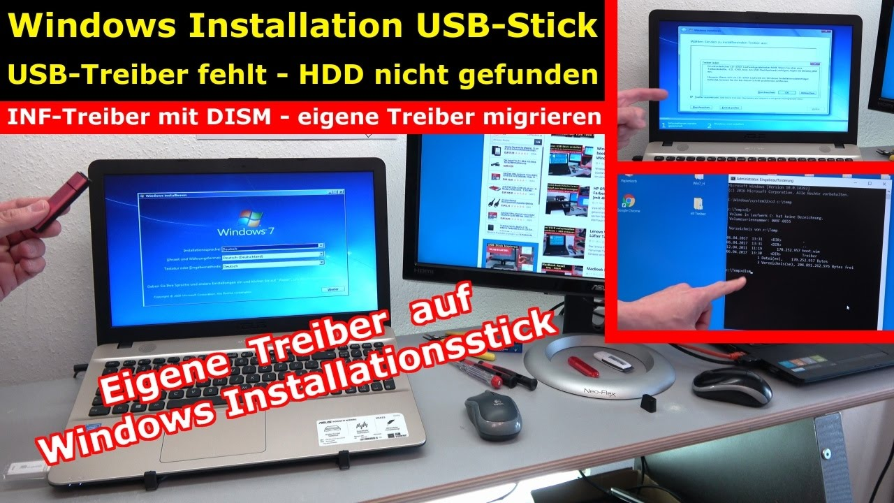 bootfähiger usb stick windows 10