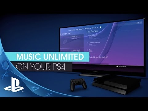 Listen While Gaming on PS4 | Music Unlimited