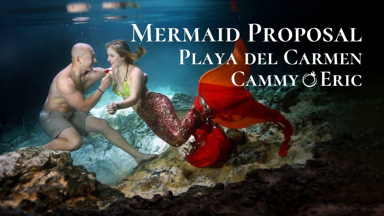 Photography underwater mermaids