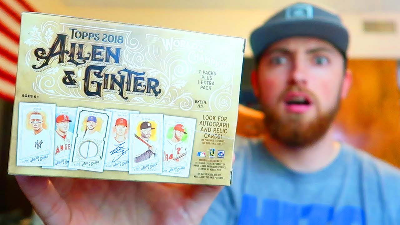 Relic Pull 2018 Topps Allen Ginter Road To Retail Autograph Irl Baseball Pack Opening 4