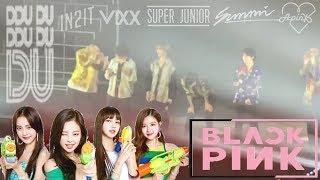 Gambar cover (Part 37) K-Idols Dancing and Singing to BLACKPINK Songs