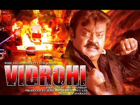 Vidrohi - 2015 HD Hindi Action Movie | Vijaykanth | Hindi Movies 2015 Full Movie