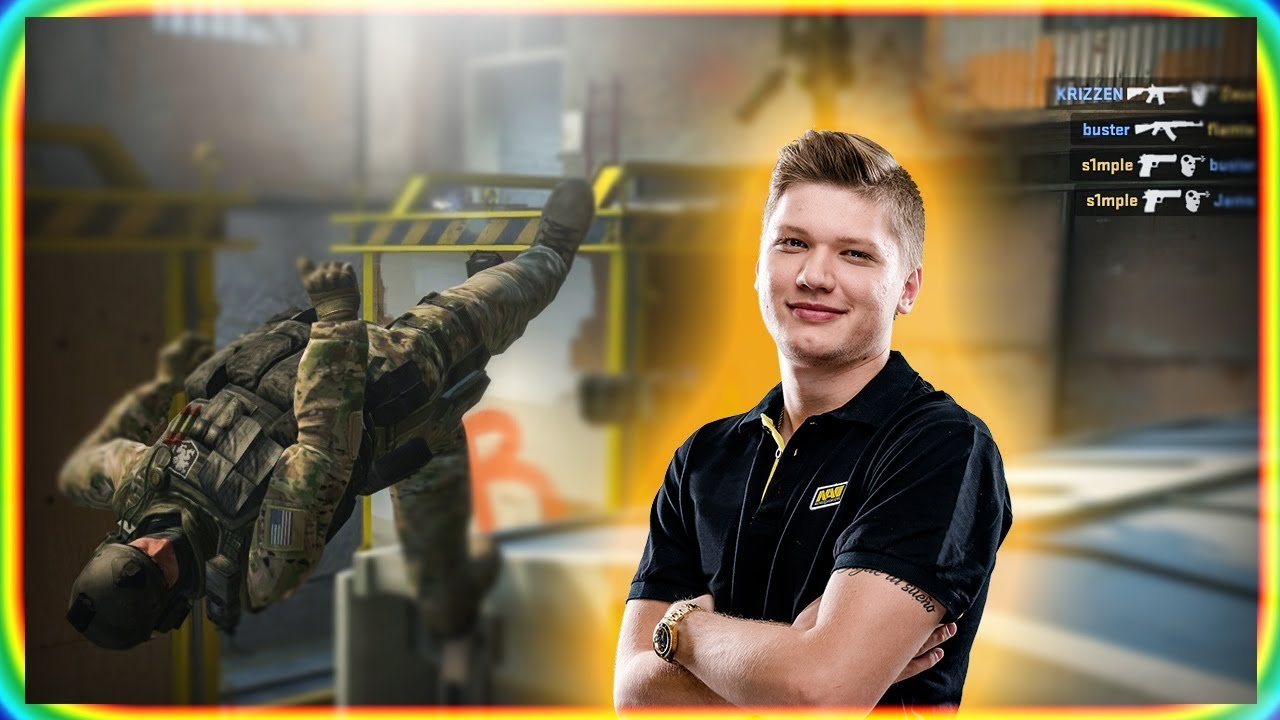 How it feels to play CS:GO against S1MPLE? Galerisi