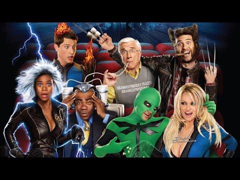 Пародийная комедия Супергеройское кино (2008 г.) с Лесли Нильсеном