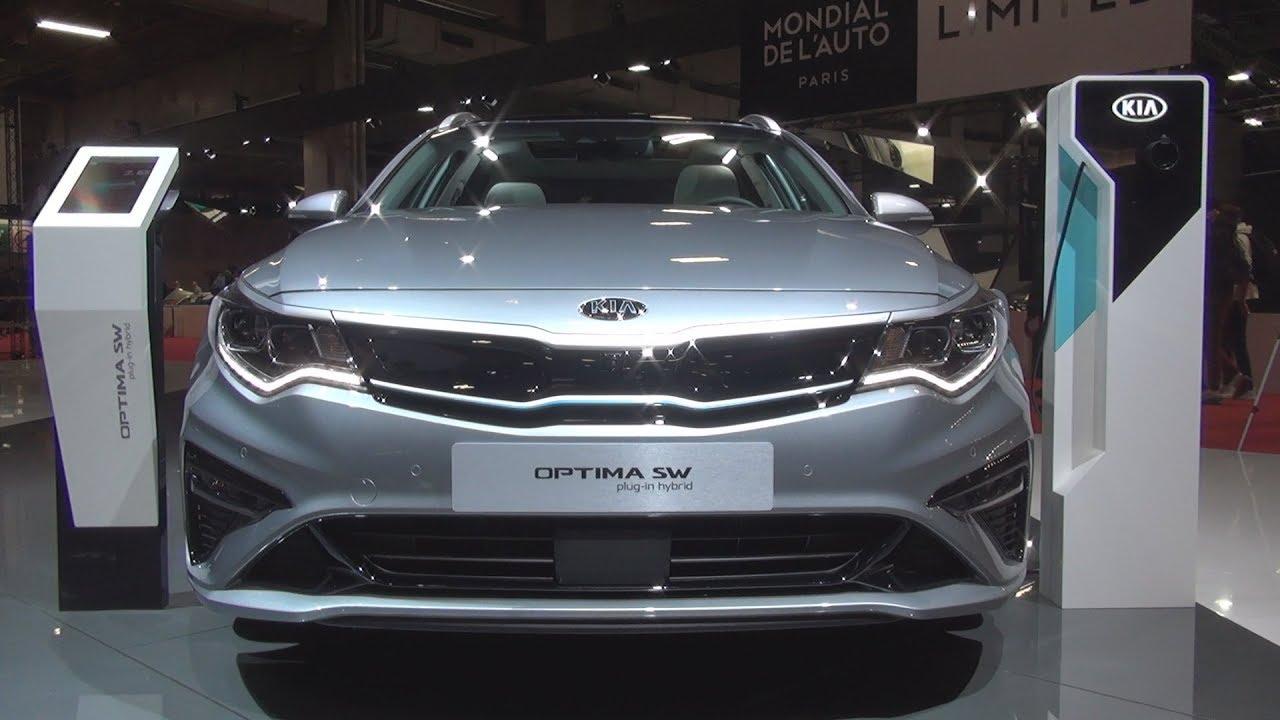 Kia Optima Sw Ultimate Plug In Hybrid 205 Hp At6 2019 Exterior And Interior