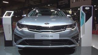 Kia Optima Sw Ultimate Plug In Hybrid 205 Hp At6 (2019) Exterior And Interior