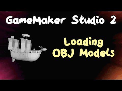 3D Games In Game Maker - Loading OBJ Models