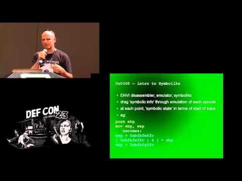 DEF CON 23 - Atlas - Fun with Symboliks
