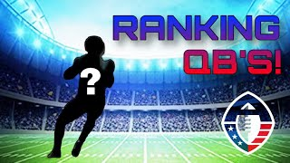 Alliance of American Football Quarterback Draft 2018 Recap