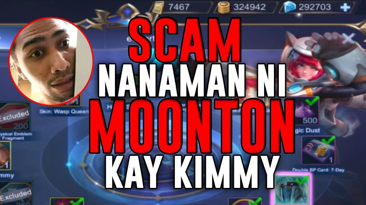 scam again and again ! - 1000 diamonds giveaway - mobile legends - gameplay - kimmy skin - rank