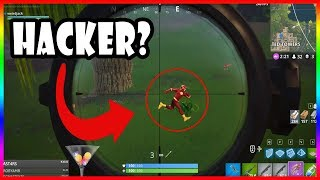 HACKER OR LAG?!?!? - Fortnite highlights #130