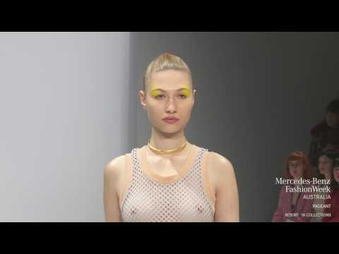PAGEANT COLLECTION MERCEDES-BENZ FASHION WEEK AUSTRALIA RESORT 18 COLLECTIONS