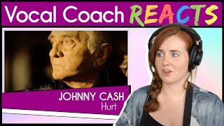 Тренер по вокалу реагирует на Джонни Кэша - Hurt