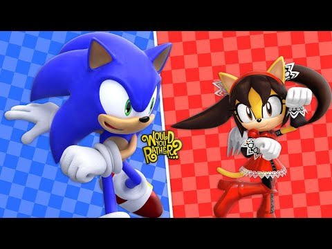 SONIC AND HONEY PLAY WOULD YOU RATHER
