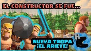 ¡NUEVA TROPA EN CLASH OF CLANS!, EL CONSTRUCTOR SE HA IDO... 5° CLASHVERSARIO-CLASH OF CLANS