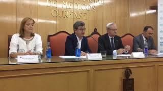 Acto del Colegio Oficial de Médicos de Ourense