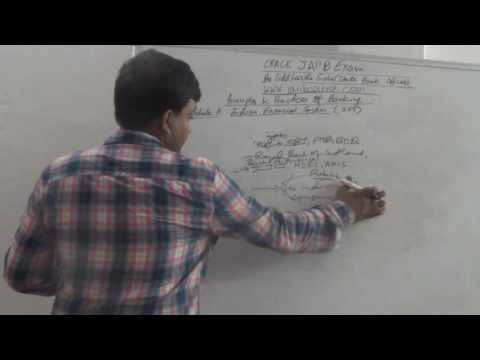 JAIIB   Principles And Practices Of Banking   Indian Financial System Part 1