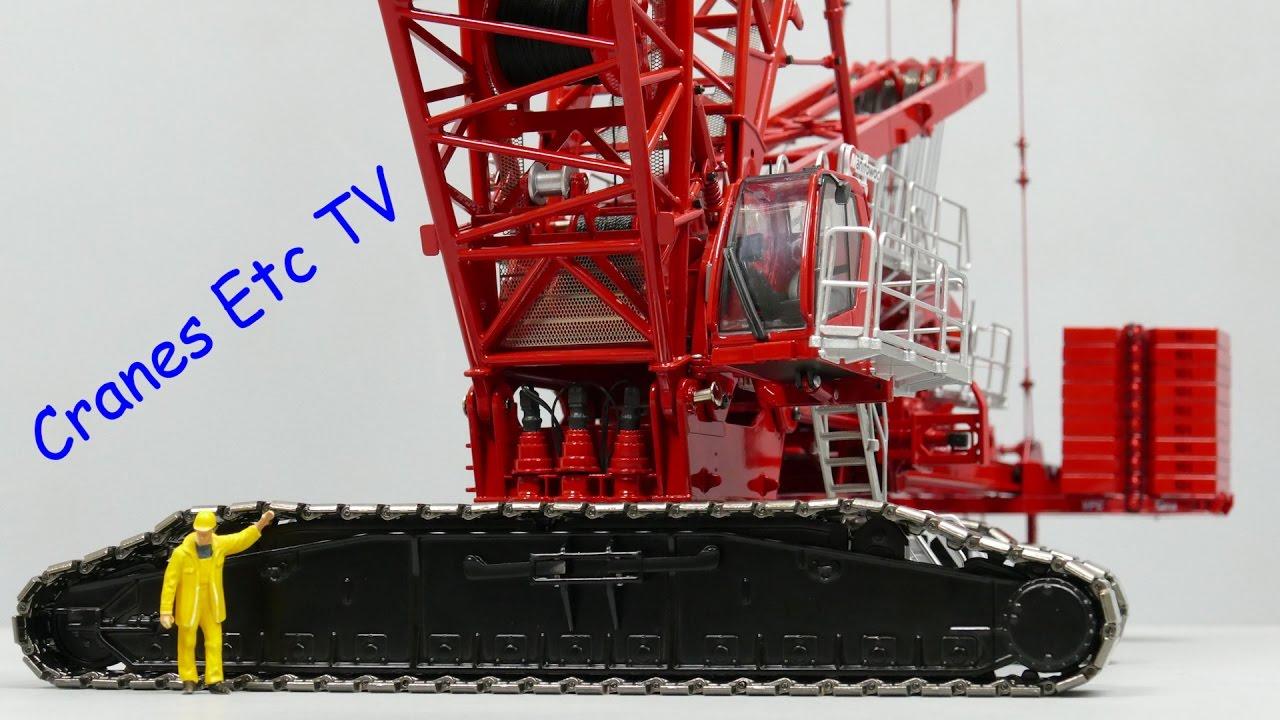 Towsleys Manitowoc MLC650 Crawler Crane - Part 2 by Cranes Etc TV