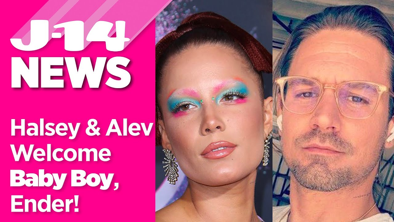 Halsey welcomes first child with screenwriter Alev Aydin: 'Powered ...