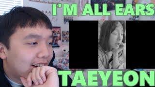 TAEYEON [태연] - I'm All Ears [겨울나무] MV Reaction [SHE'S SO CUTE.]