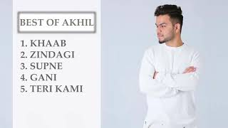 Best of Akhil Songs || Punjabi songs || All time best
