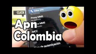 como configurar apn Movistar colombia para Internet WEB, WAP y MMS en android comoconfigurar