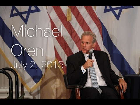 Nixon Global Forum with Michael Oren