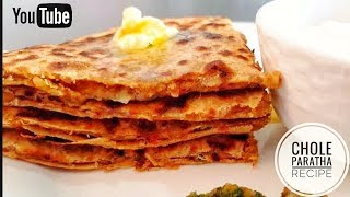 Chole Paratha Recipe // Delicious And Tasty Punjabi Style Paratha //BY PREETI SEHDEV