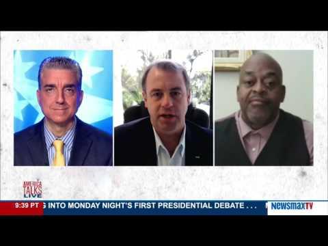 America Talks Live   Niger Innes & Kurt Schlichter Political Panel