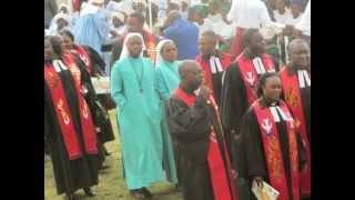 The new moderator of the Presbyterian Church in Cameroon