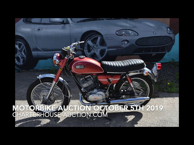 What is in the Motorbike Auction On October 5th 2019