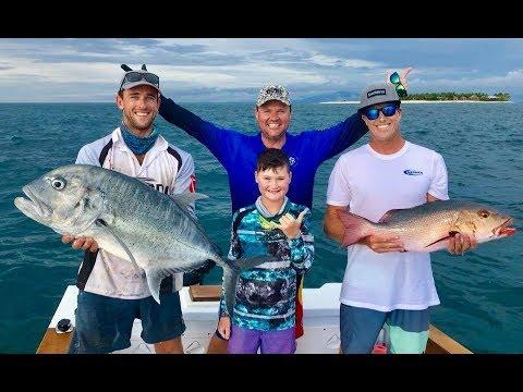 IFISH Fishing Namotu Island FIJI