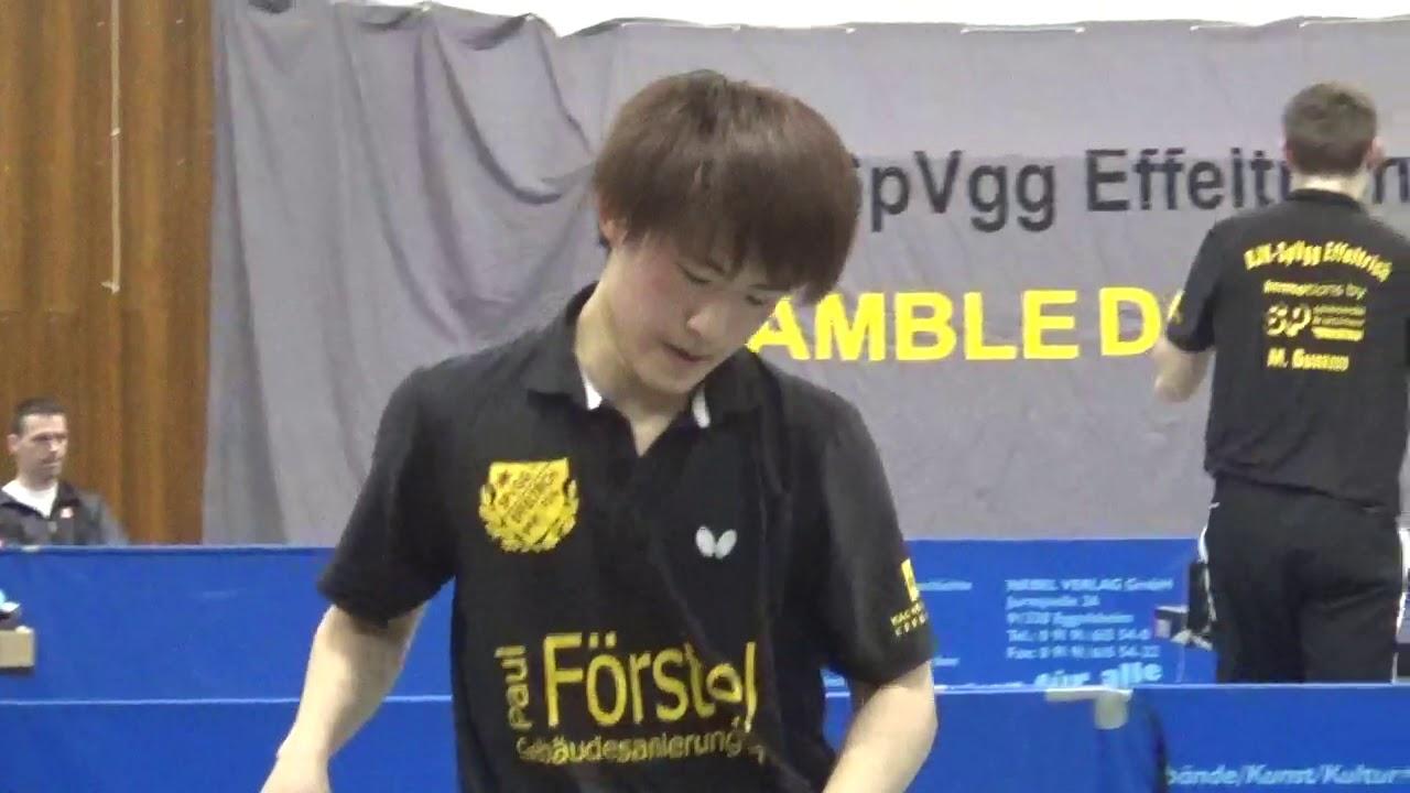 Kashiwa Japan vs Benes Czech 5 Zoom 20190323 Effeltrich vs TTC Wohlbach  Table Tennis Third League Ge