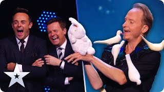 IM-PECK-ABLE! MAGIC is in the air with King of Birds Håkan Berg! | Semi-Finals | BGT 2020