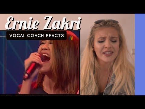 VOCAL COACH |ERNIE ZAKRI | REACTION