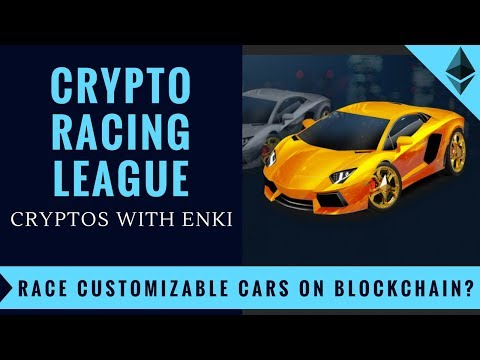Crypto Racing League - Race Customizable Cars on Blockchain? - Crypto Games