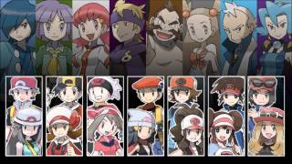 Repeat youtube video Pokemon - All Gym Leader Battle Themes V3